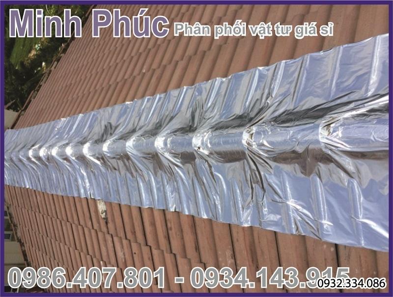 màng giấy dầu tự dính chống thấm mái nhà